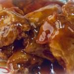Breaded Wings with Honeygarlic Sauce