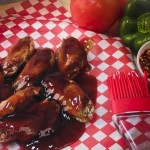 Traditional Wings with Honeygarlic Sauce